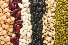 Different beans Royalty Free Stock Image