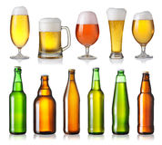 Different beers Royalty Free Stock Photography