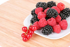 Different berries Royalty Free Stock Photos