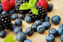 Different berries Royalty Free Stock Image
