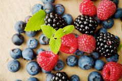 Different berries Royalty Free Stock Images