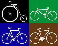 Different bikes Stock Photo