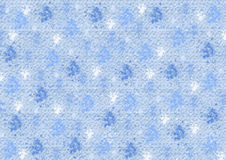 Different blue color blots on blue Royalty Free Stock Photo