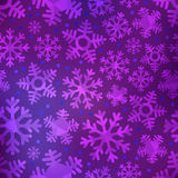 Different blue snowflakes set. Abstract background Stock Photo