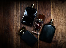 Different bottle of perfume Royalty Free Stock Image