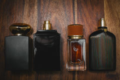 Different bottle of perfume Royalty Free Stock Images