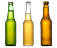 Different bottles of beer Stock Photo