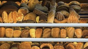 Different breads Stock Photography