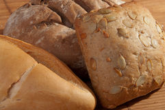 Different breads Stock Image