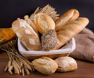 Different breads Royalty Free Stock Images
