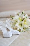 Different bride accessories Stock Photo