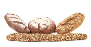 Different brown breads. Stock Photography