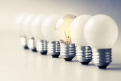 Different Bulb Royalty Free Stock Images