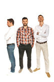 Different business men Royalty Free Stock Image