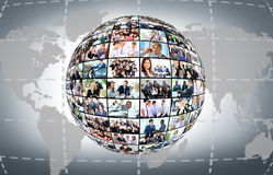 Different business people Stock Image