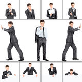 Different business situations Royalty Free Stock Photo