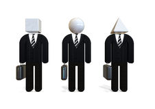 Different Businessmen concept Stock Image