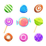 Different Candy Set Royalty Free Stock Image