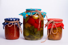 Different canning Royalty Free Stock Images