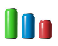 Different cans Stock Photos