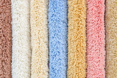 Different carpet samples Stock Images