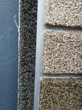 Different carpet samples Stock Photos