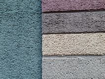 Different carpet samples Royalty Free Stock Photos