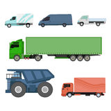 Different cars transport vector set. Stock Photography