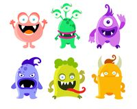 Different cartoon halloween collection Stock Photography