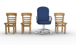 Different chair Stock Images