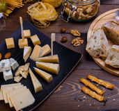 Different cheese Stock Image