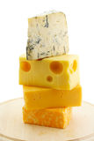 Different cheeses Royalty Free Stock Image