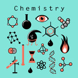 Different chemical elements Royalty Free Stock Photos