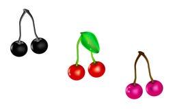 Different cherries Stock Photo