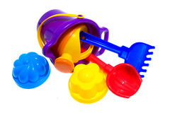 Different child's toys Royalty Free Stock Image