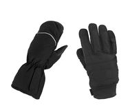 Different childe gloves Royalty Free Stock Photography