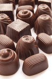 Different chocolate candies Stock Photography