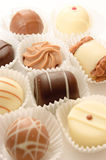 Different chocolates Royalty Free Stock Image