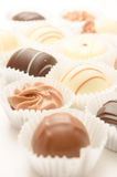 Different chocolates Stock Photos