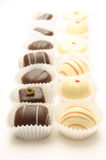 Different chocolates Royalty Free Stock Photo