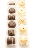Different chocolates Stock Photography