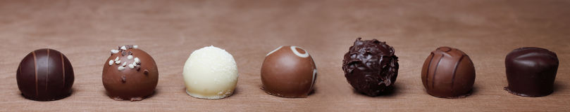 Different chocolates Royalty Free Stock Photos