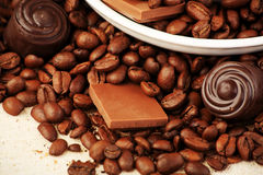 Different chocolates Royalty Free Stock Images