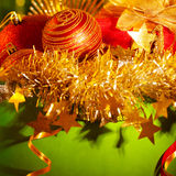 Different Christmas stuff Royalty Free Stock Images