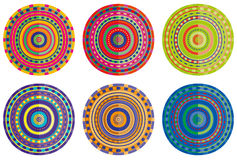 Different circles mandala Stock Photography