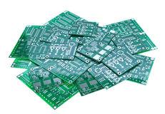 Different circuit boards Stock Image