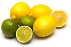 Different citrus fruits Royalty Free Stock Images