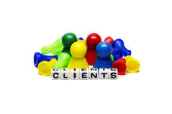 Different Clients Stock Photo