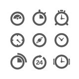 Different clocks collection Royalty Free Stock Photo