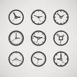 Different clocks collection Stock Photos